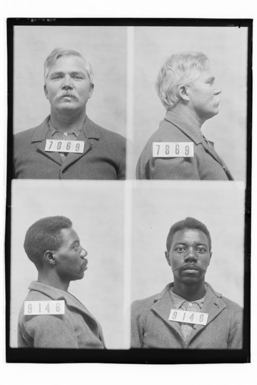 Chas Howard and Matt Alip, Prisoners 7869 and 9146, Kansas State Penitentiary - Page