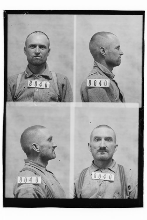 Robert Y. Noel and Henry Reynolds, Prisoners 8840 and 8040, Kansas State Penitentiary - Page