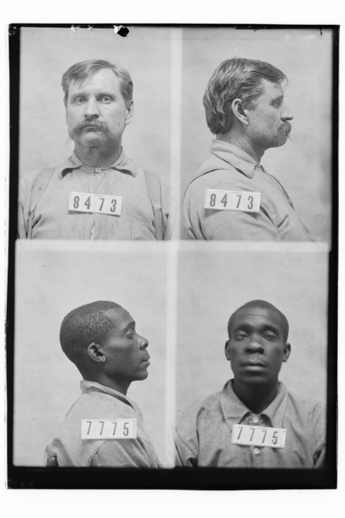 Isaac Warren and Wm Evans, Prisoners 8473 and 7775, Kansas State Penitentiary - Page