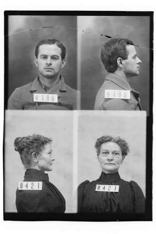 William Meagher and Emelia New, Prisoners 6195 and 8421, Kansas State Penitentiary - Page