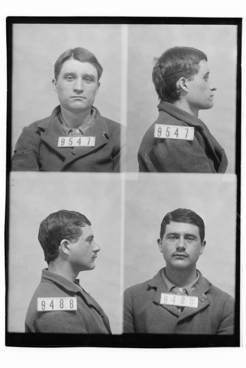 Edward Brown and Edlow Terry, Prisoners 9547 and 9488, Kansas State Penitentiary - Page