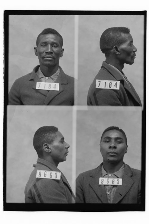 Moses Bray and Merrill Ottrey, Prisoners 7184 and 8663, Kansas State Penitentiary - Page