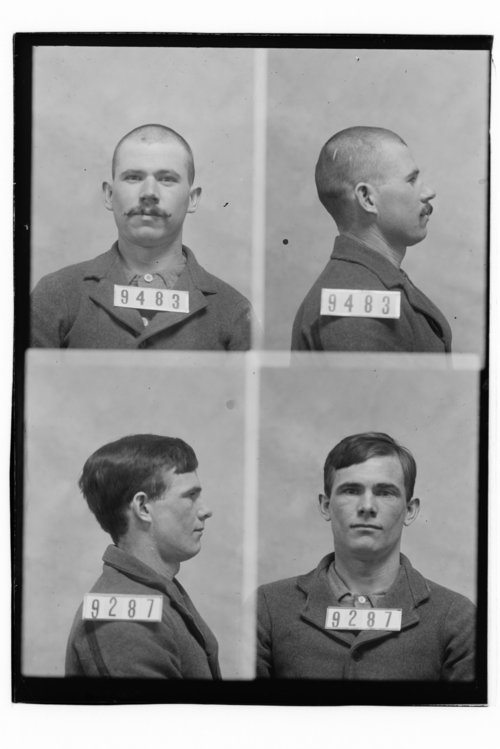 Mack Whalen and Henry Littleton, Prisoners 9483 and 9287, Kansas State Penitentiary - Page