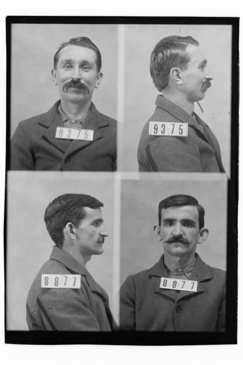 William Folks and Thomas McDermott, Prisoners 9375 and 8877, Kansas State Penitentiary - Page