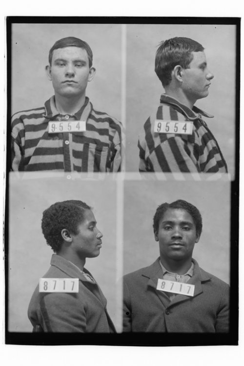 James Martin and George Skaggs, Prisoners 9554 and 8717, Kansas State Penitentiary - Page