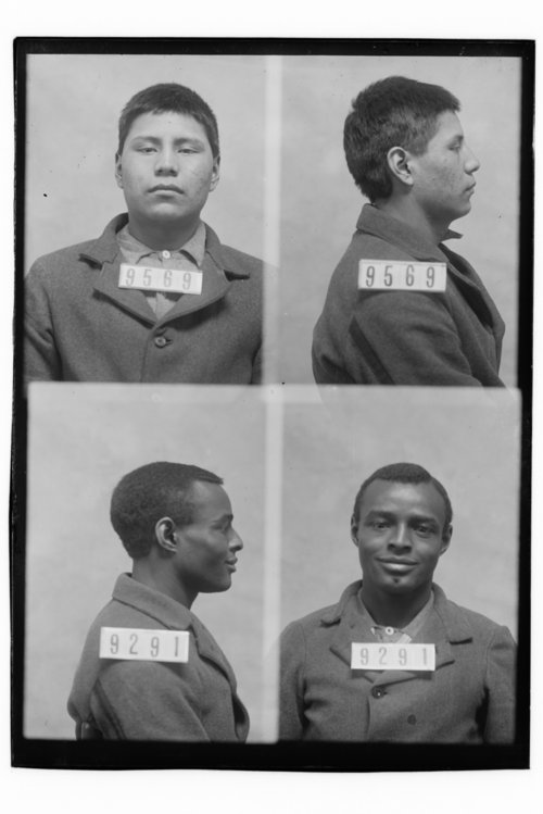Frank Blackboy and Burley Hines, prisoners 9569 and 9291 - Page