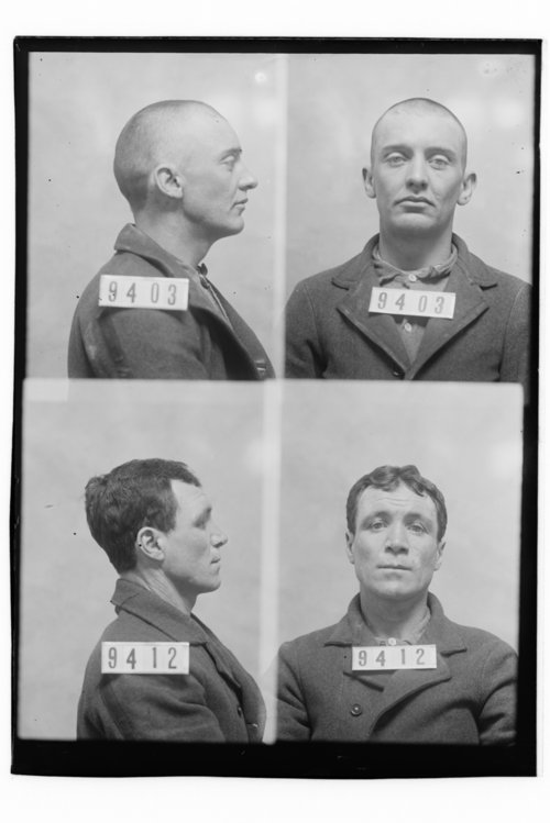 Wm B. Lockett and James Holley, Prisoners 9403 and 9412, Kansas State Penitentiary - Page