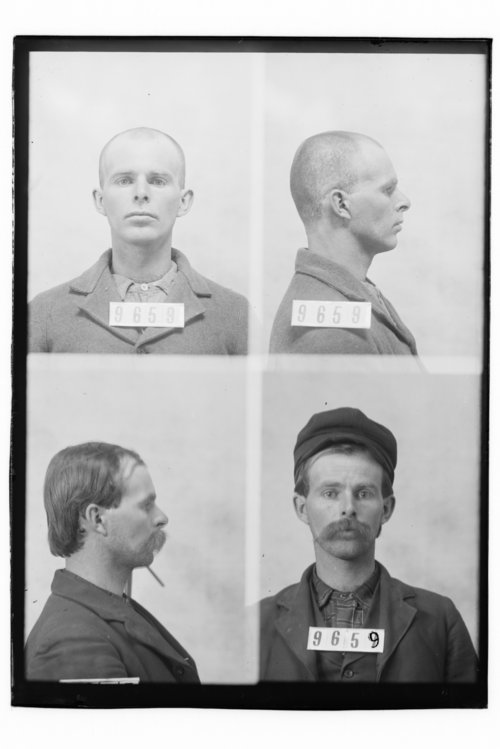 Royal S. Golden, Prisoner 9659, Kansas State Penitentiary - Page