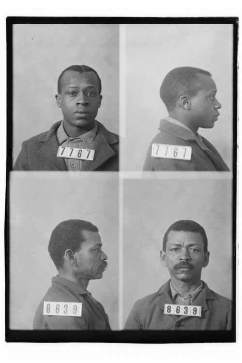 Ernest Brown and Wesley Ernin, Prisoners 7767 and 8639, Kansas State Penitentiary - Page