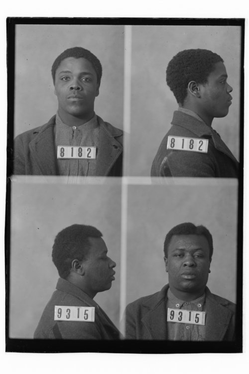 George Benson and Fred Fletcher, prisoners 8182 and 9315 - Page