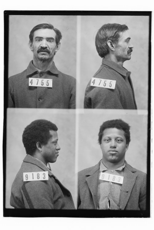 William B. Blalack and David Greenlee, Prisoners 4755 and 9183, Kansas State Penitentiary - Page