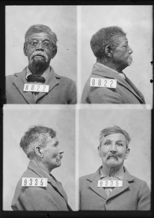 Ed Henderson and Joseph Fletcher, Prisoners 8822 and 9335, Kansas State Penitentiary - Page