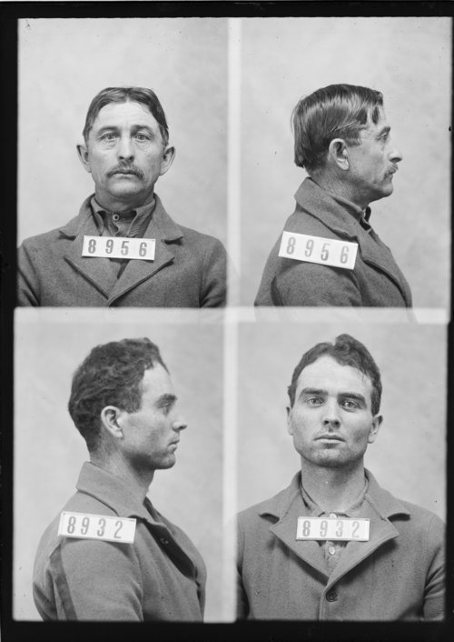 Amos E. Pearce and James Morrissey, Prisoners 8956 and 8932, Kansas State Penitentiary - Page