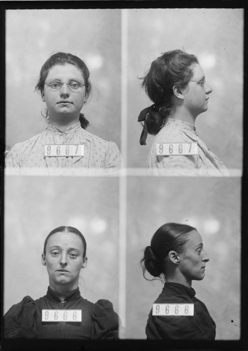 Cora Frost and Hattie L. Frost, Prisoners 9667 and 9666, Kansas State Penitentiary - Page