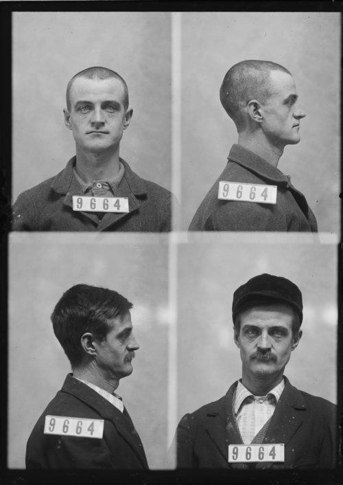 Frank Harp, Prisoner 9664, Kansas State Penitentiary - Page