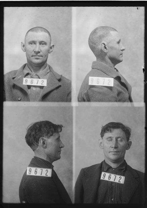 Frank Hunter, Prisoner 9672, Kansas State Penitentiary - Page