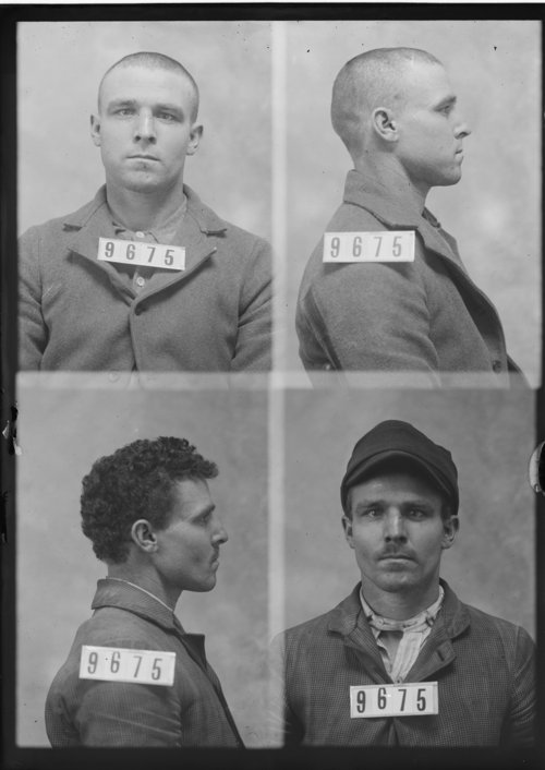 Clarence Fry, Prisoner 9675, Kansas State Penitentiary - Page