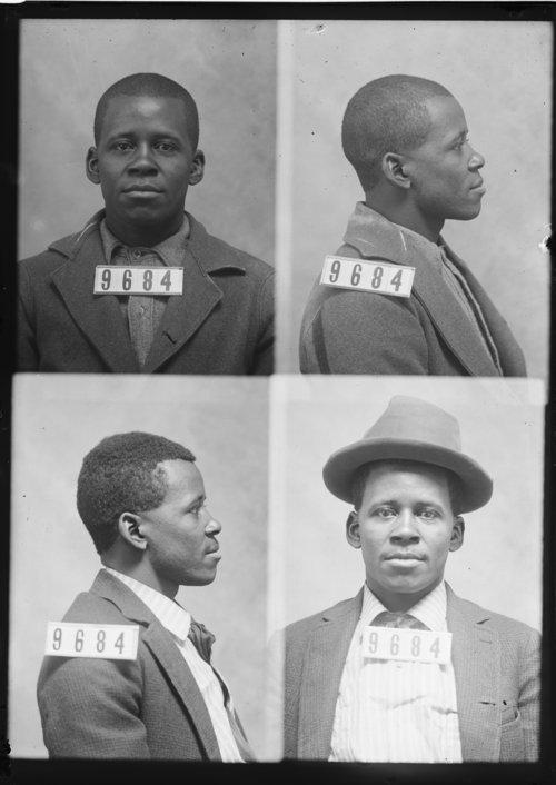 Nelson Robinson, Prisoner 9684, Kansas State Penitentiary - Page