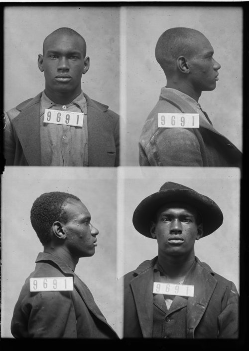Geo. Williams, Prisoner 9691, Kansas State Penitentiary - Page