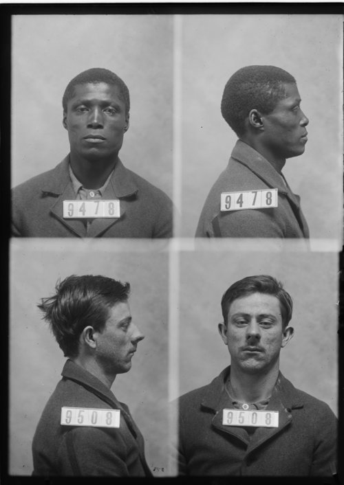 B. B. Comer and George Scott, Prisoners 9478 and 9508, Kansas State Penitentiary - Page
