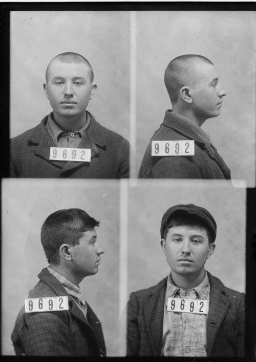 Oliver Hagner, Prisoner 9692, Kansas State Penitentiary - Page