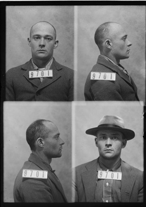 Geo. Horton, Prisoner 9701, Kansas State Penitentiary - Page