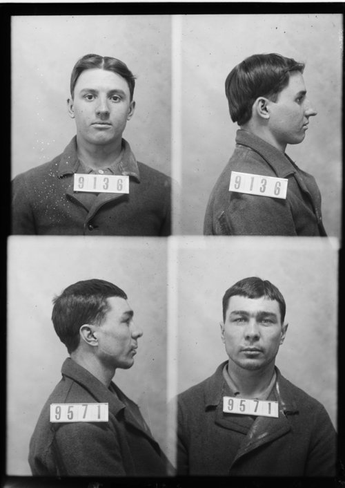 Aris Cope and Joseph Patterson, Prisoners 9136 and 9571, Kansas State Penitentiary - Page