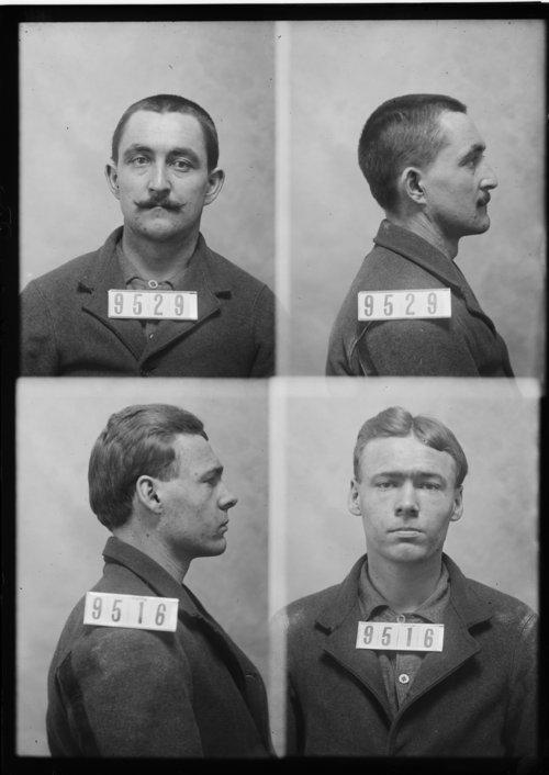 Gottlieb Kottke and Bert Sturm, Prisoners 9529 and 9516, Kansas State Penitentiary - Page