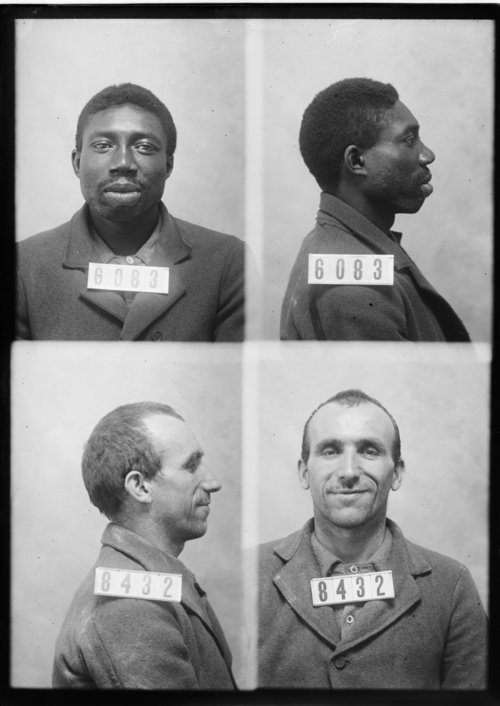 Isaac Fox and John Poteau, Prisoners 6083 and 8432, Kansas State Penitentiary - Page