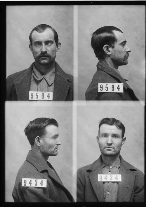 Jasper L. Nally and Wm. Sorden, Prisoners 9594 and 9434, Kansas State Penitentiary - Page