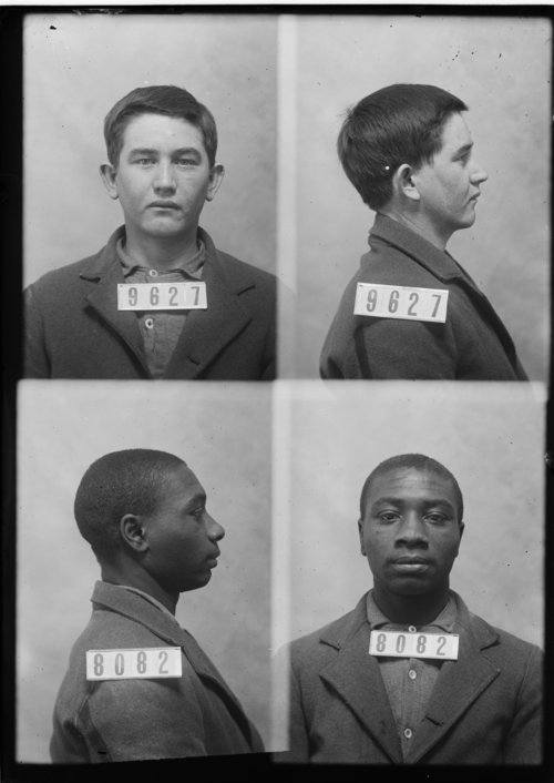 Willard Brinlee and Harrison Wheat, Prisoners 9627 and 8082, Kansas State Penitentiary - Page