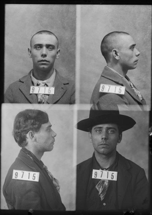 J. F. Grayhorse, Prisoner 9715, Kansas State Penitentiary - Page