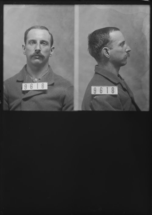 Walter Peters, Prisoner 9618, Kansas State Penitentiary - Page