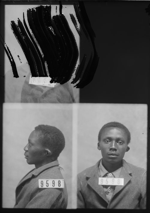 John Blackshear, Prisoner 9598, Kansas State Penitentiary - Page