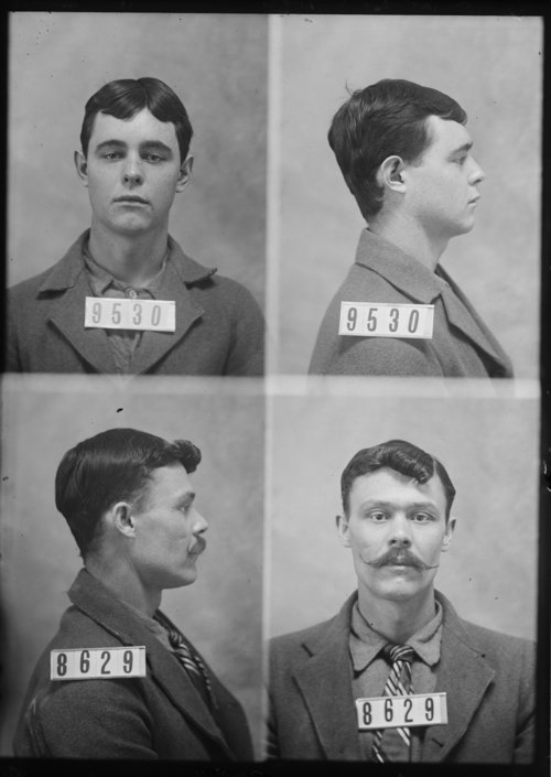 Otis Drury and William Gibson, Prisoners 9530 and 8629, Kansas State Penitentiary - Page