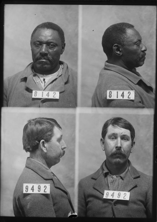 Charles Walker and James Williams, Prisoners 8142 and 9492, Kansas State Penitentiary - Page