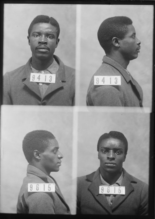Walter Coles and Allen Brown, Prisoners 9413 and 9615, Kansas State Penitentiary - Page