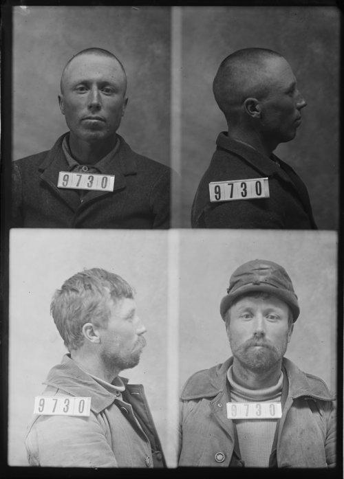 Joseph Evans, Prisoner 9730, Kansas State Penitentiary - Page