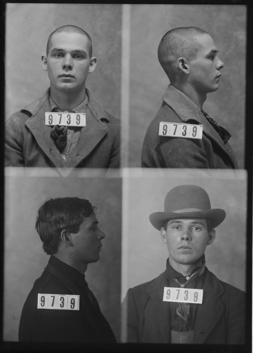 Perry Weber, Prisoner 9739, Kansas State Penitentiary - Page