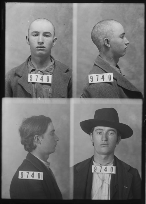 Ernest David, Prisoner 9740, Kansas State Penitentiary - Page