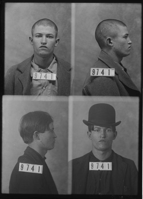 Enoch Stevens, Prisoner 9741, Kansas State Penitentiary - Page