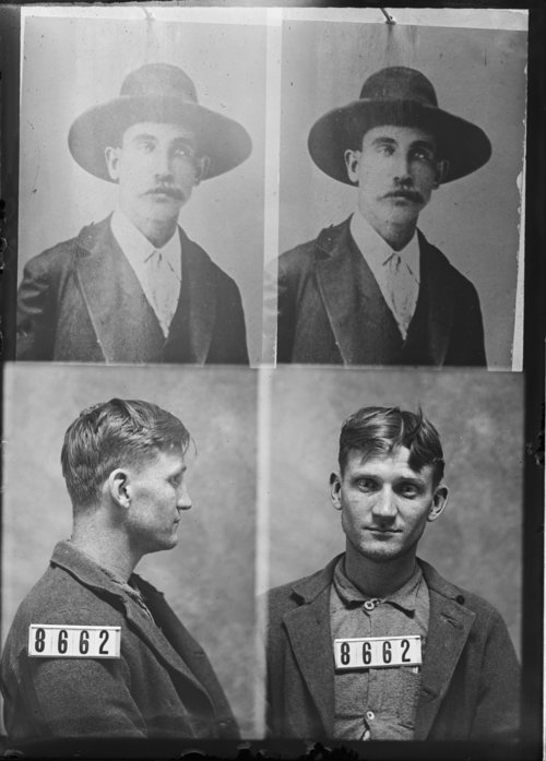 H. J. Hale and Ben Cravens, Prisoners 8662 and 8003, Kansas State Penitentiary - Page
