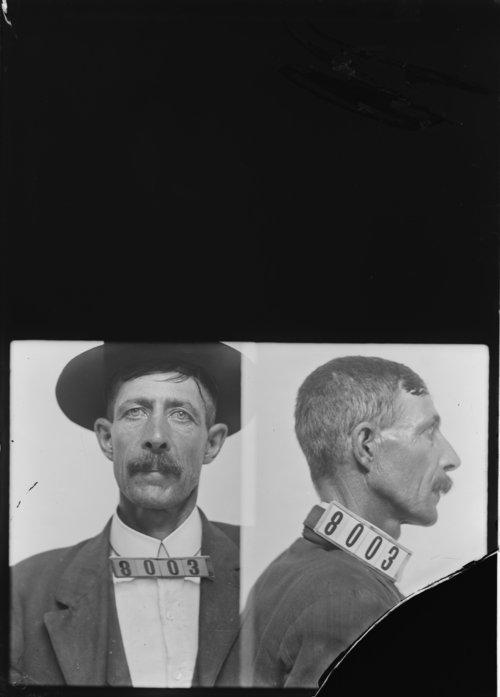 Ben Cravens, Prisoner 8003, Kansas State Penitentiary - Page