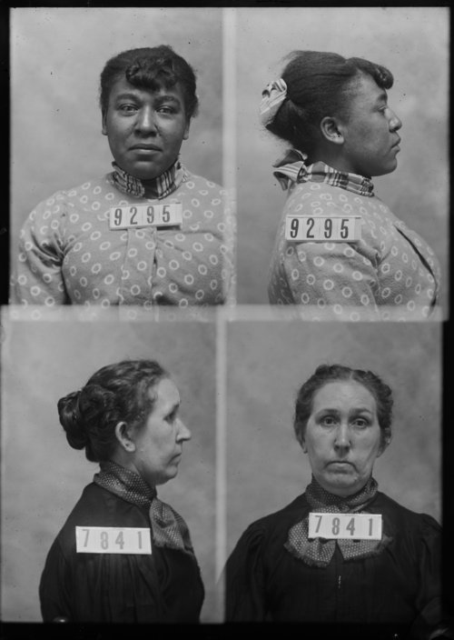 Mary Marshall and Irene Leonard, Prisoners 9295 and 7841, Kansas State Penitentiary - Page