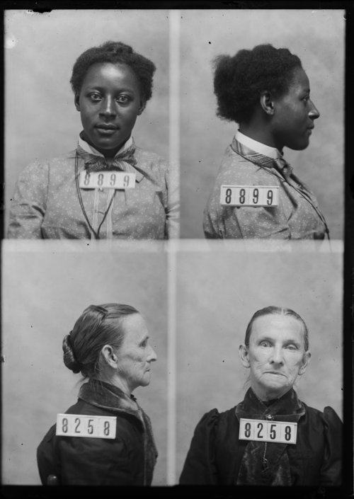 Flossie Warner and Nancy Wilson, Prisoners 8899 and 8258, Kansas State Penitentiary - Page