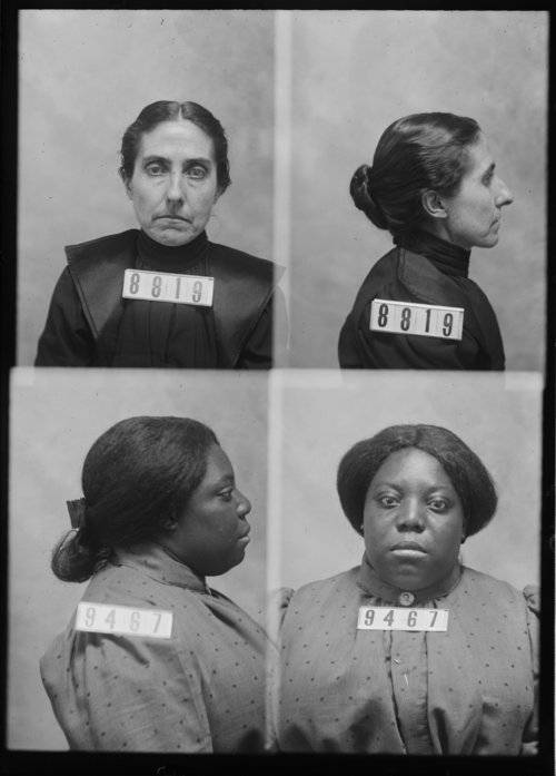 Theresa Agatha Krebs and Bertha Jefferson, Prisoners 8819 and 9467, Kansas State Penitentiary - Page