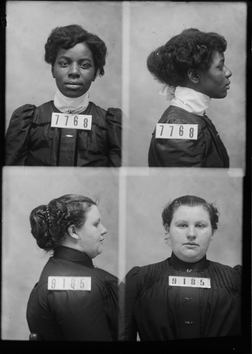 Lulu Cash and Anna E. Bowers, Prisoners 7768 and 9185, Kansas State Penitentiary - Page