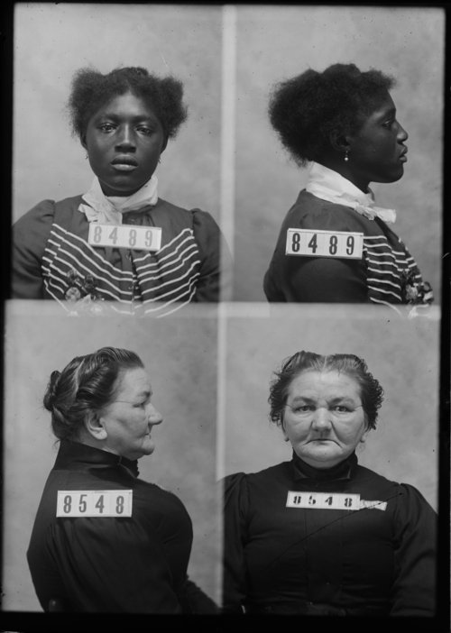 Ella Bradfield and Anna Burda, Prisoners 8489 and 8548, Kansas State Penitentiary - Page