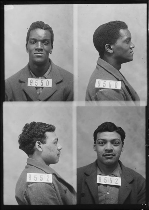 Rush Thomas and John Davis, Prisoners 9550 and 9552, Kansas State Penitentiary - Page