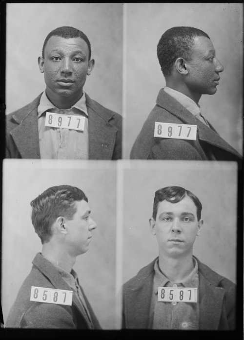 Bud Robinson and Frank White, prisoners 8977 and 8587 - Page